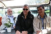 Das Exkursionsteam (bis auf Walter Demmer): Dr. Wolfgang Vomm, Gregor Vetten-Betzin, Dr. Wilhelm Krieger